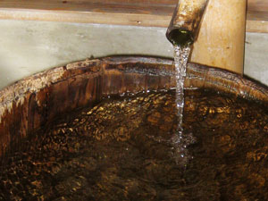 飯豊山系伏流水